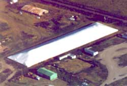 Arial View of Grain Cover