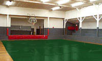 Basket Ball court w/cover